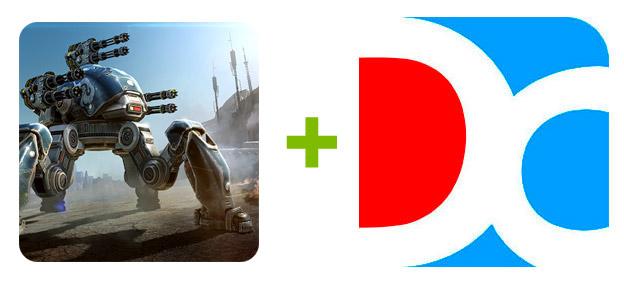 Устанавливаем Walking War Robots с помощью эмулятора Droid4X