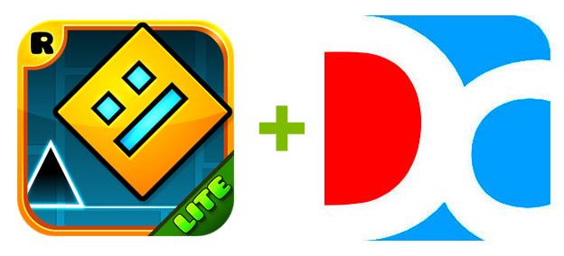 Устанавливаем Geometry Dash Lite от через эмулятора Droid4X