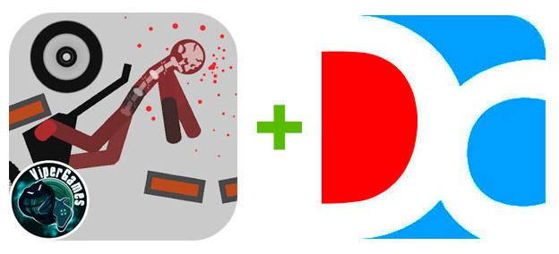 Устанавливаем Stickman Dismount с помощью эмулятора Droid4X