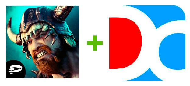 Устанавливаем Vikings War Of Clans с помощью эмулятора Droid4X
